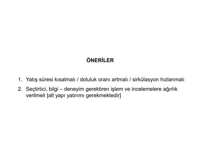 ÖNERİLER