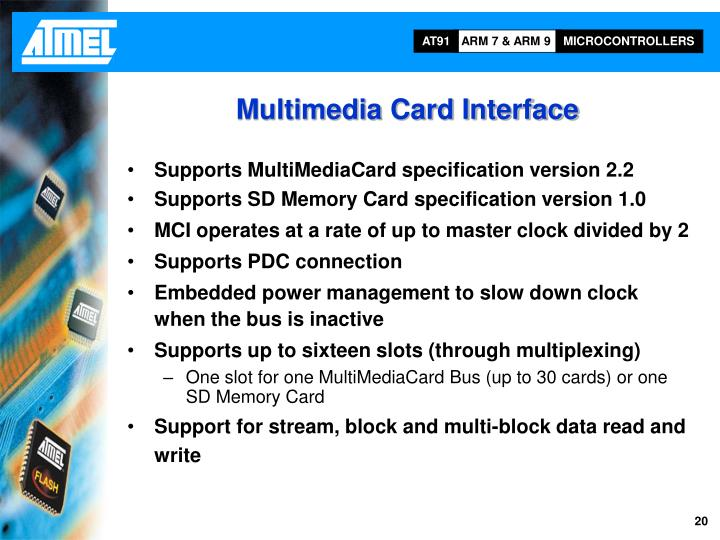 Multimedia Card Interface