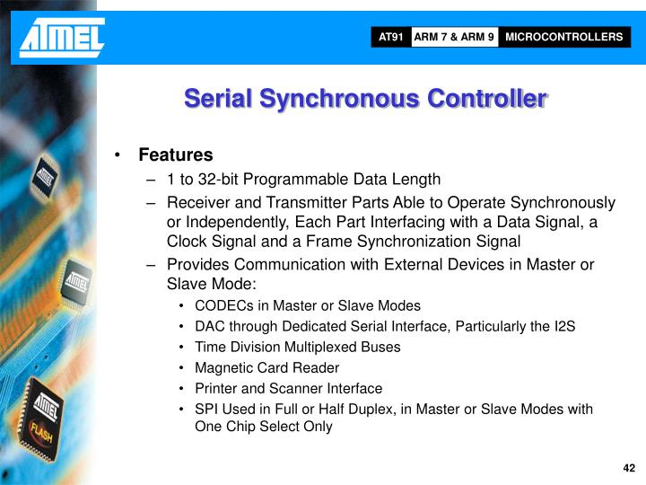 Serial Synchronous Controller