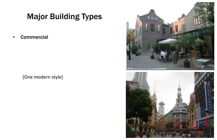 Major Building Types