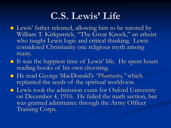 C.S. Lewis Critical Essays