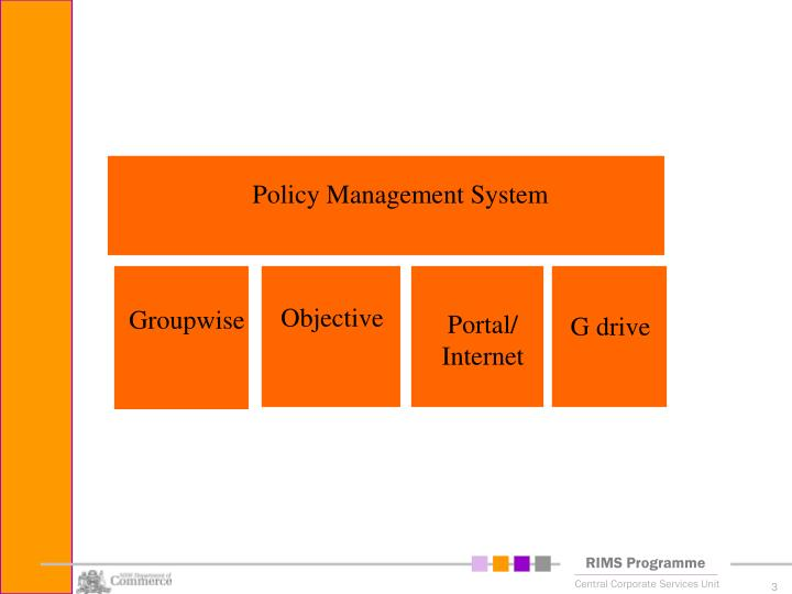 Policy Management System