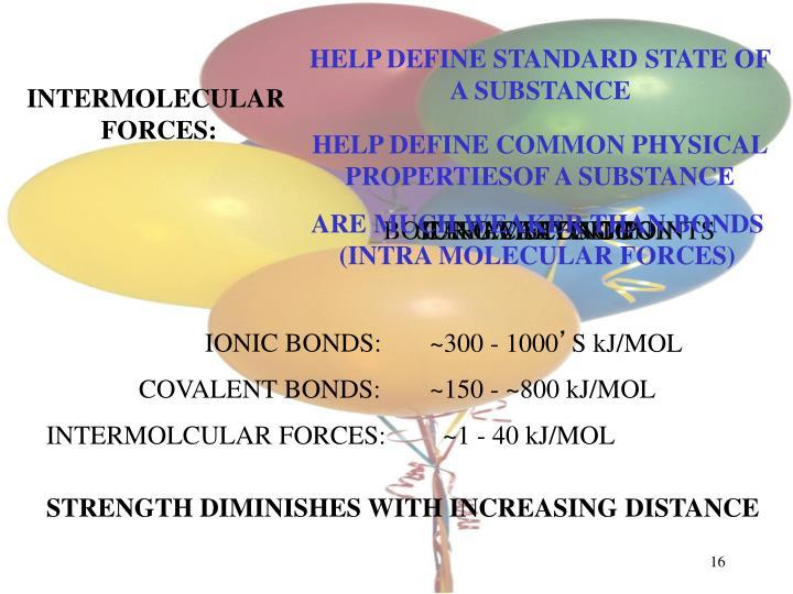 HELP DEFINE STANDARD STATE OF