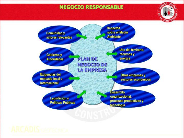 NEGOCIO RESPONSABLE