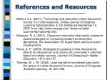 references and resources1