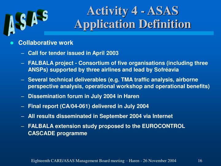 Activity 4 - ASAS