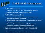 care asas management