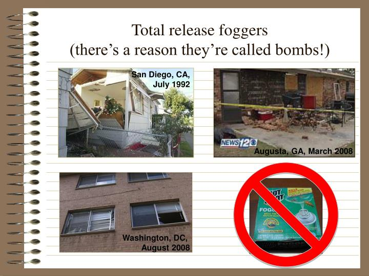 Total release foggers