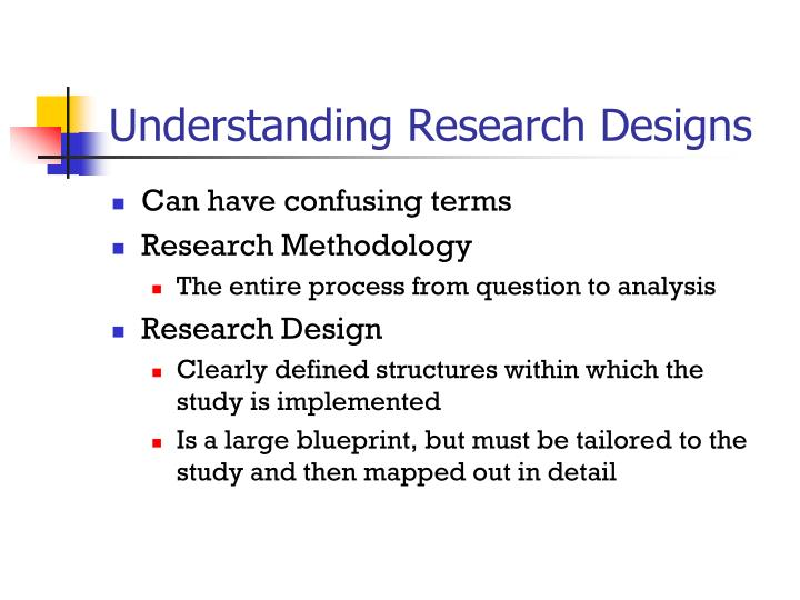 Understanding Research Designs