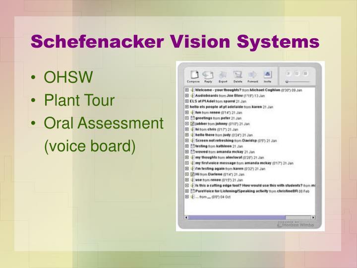 Schefenacker Vision Systems