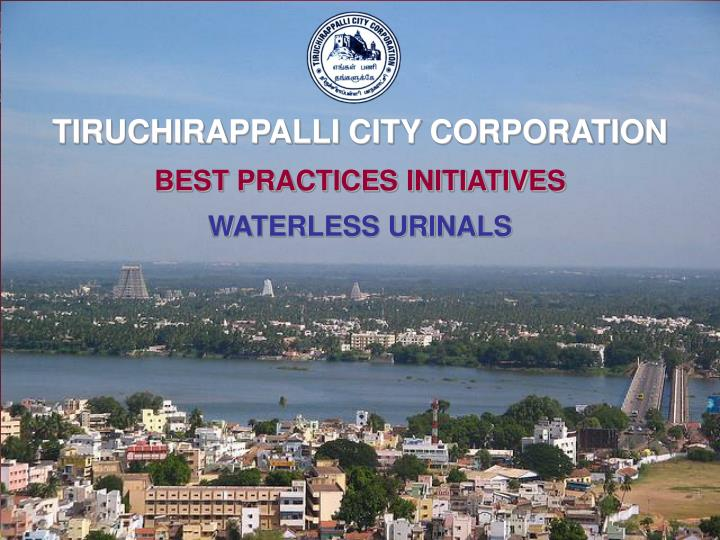 TIRUCHIRAPPALLI CITY CORPORATION