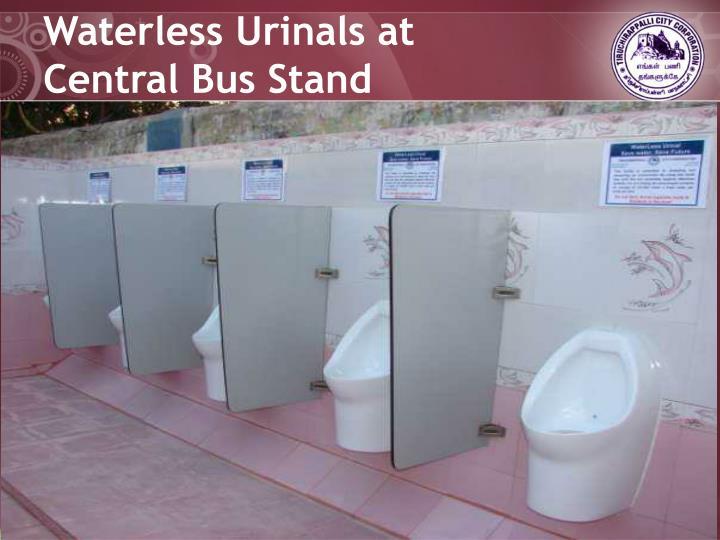 Waterless Urinals at