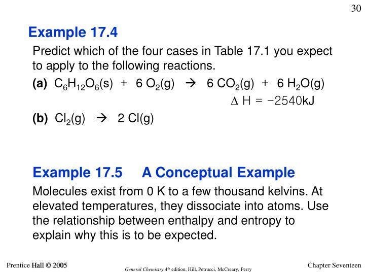 Example 17.4