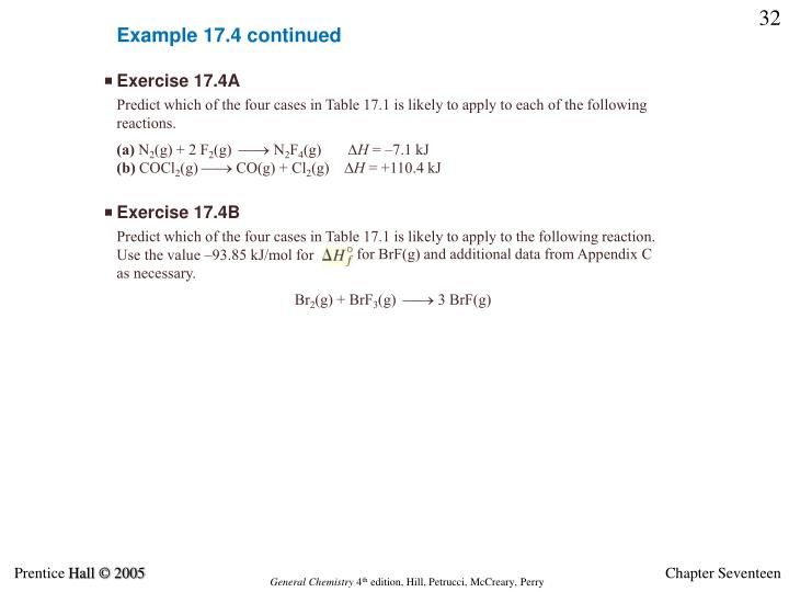 Example 17.4 continued