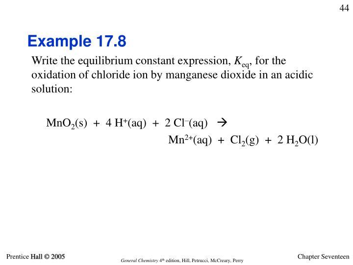 Example 17.8