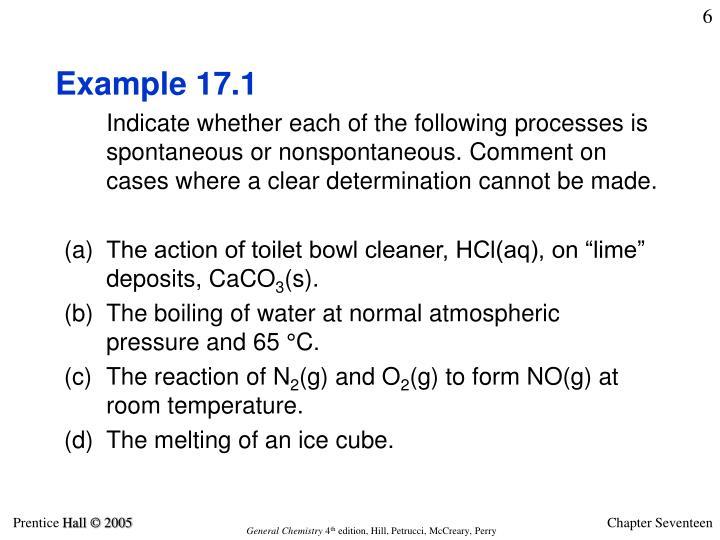 Example 17.1