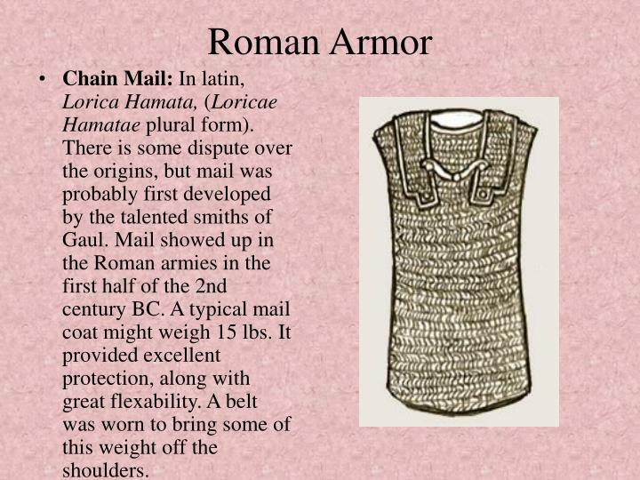 Roman Armor