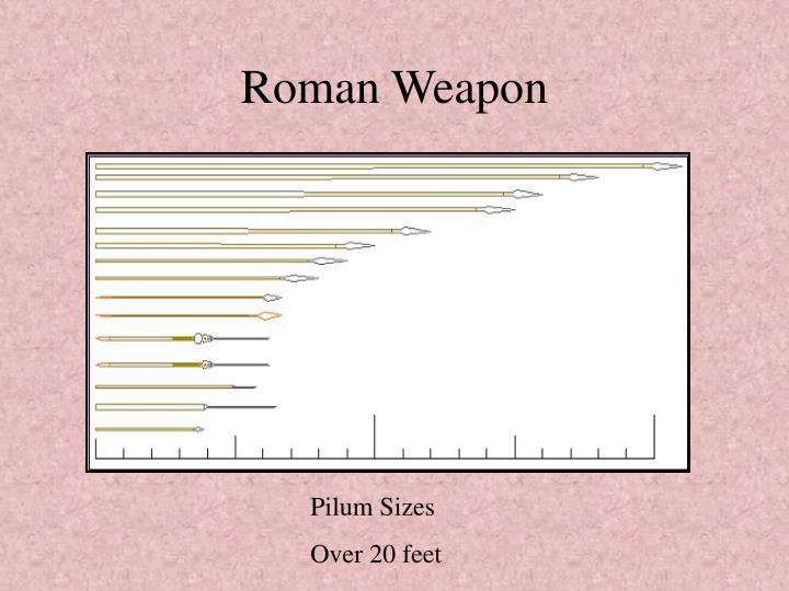 Roman Weapon