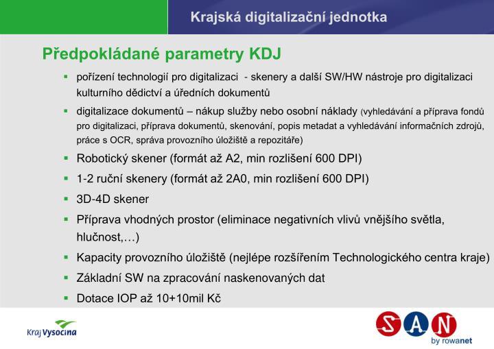 Krajská digitalizační jednotka