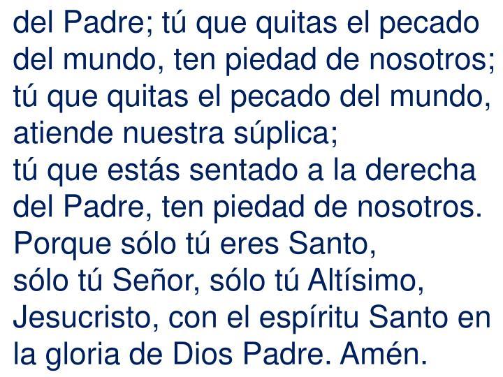 del Padre;