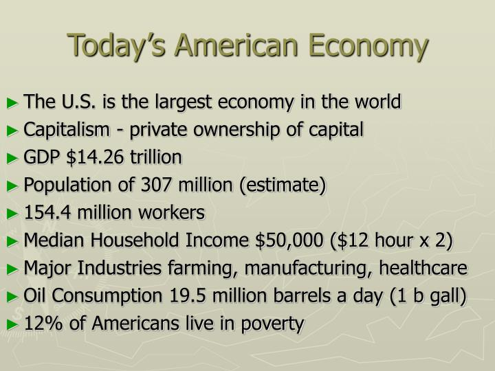 americas economy today essays The american revolution changed the fox news, the huffington post, the new york daily news, the new for more about the american situation site, go here.