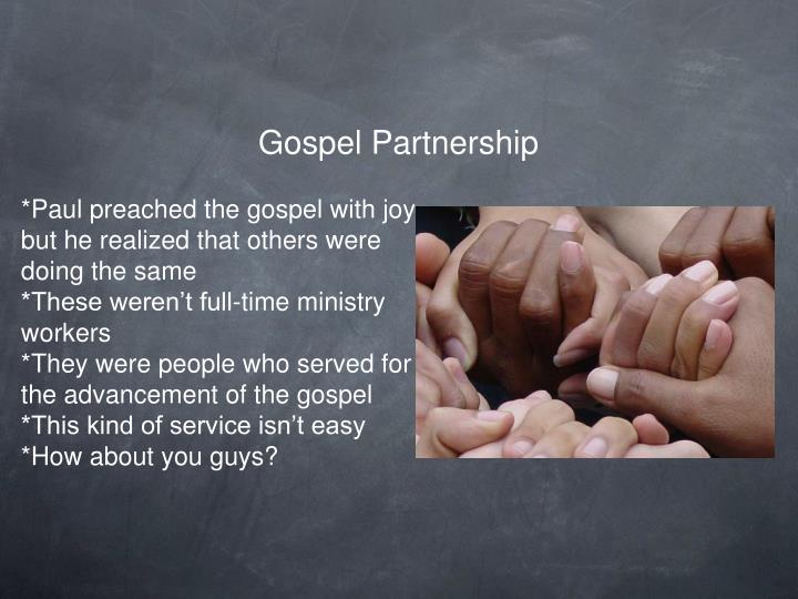 Gospel Partnership