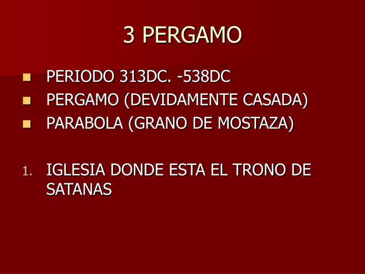 3 PERGAMO