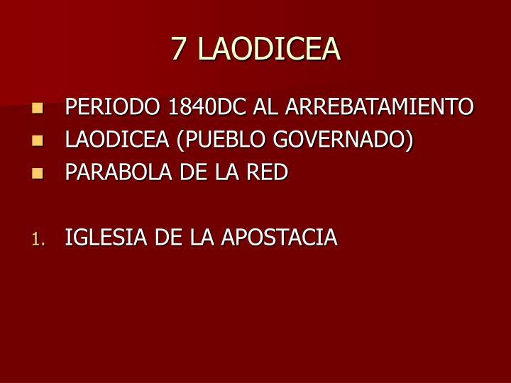 7 LAODICEA
