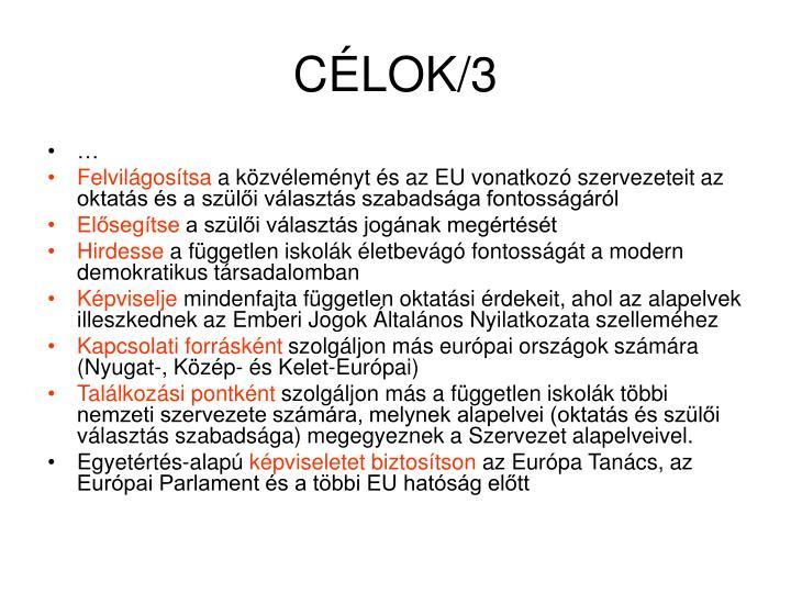CÉLOK/3