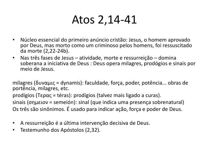 Atos 2,14-41