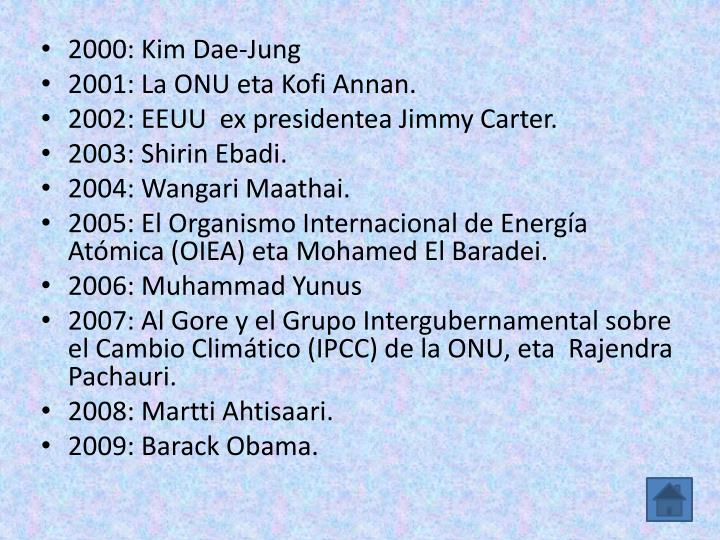 2000: Kim