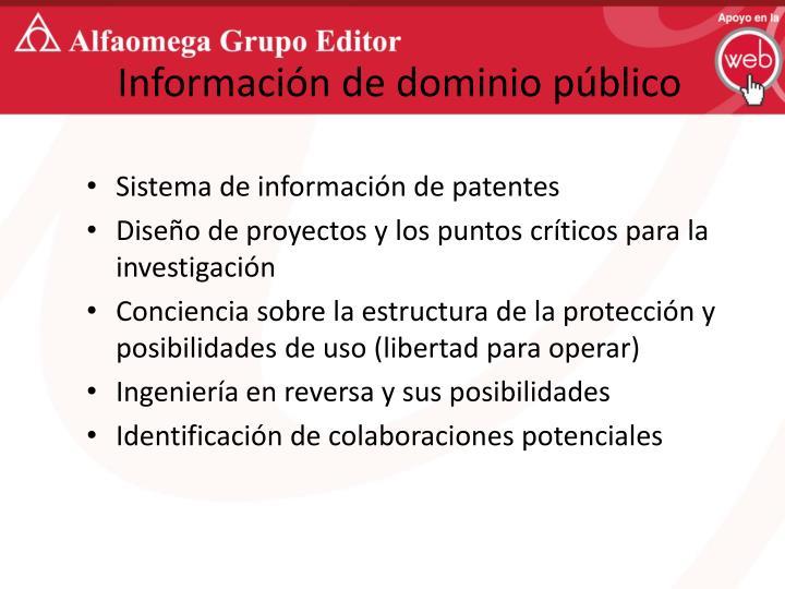 Información de dominio público