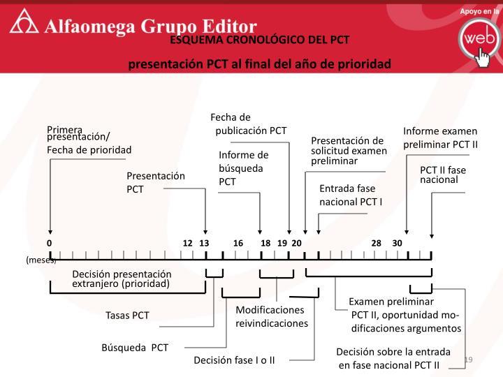 ESQUEMA CRONOLÓGICO DEL PCT