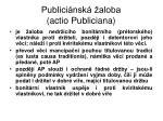 publici nsk aloba actio publiciana