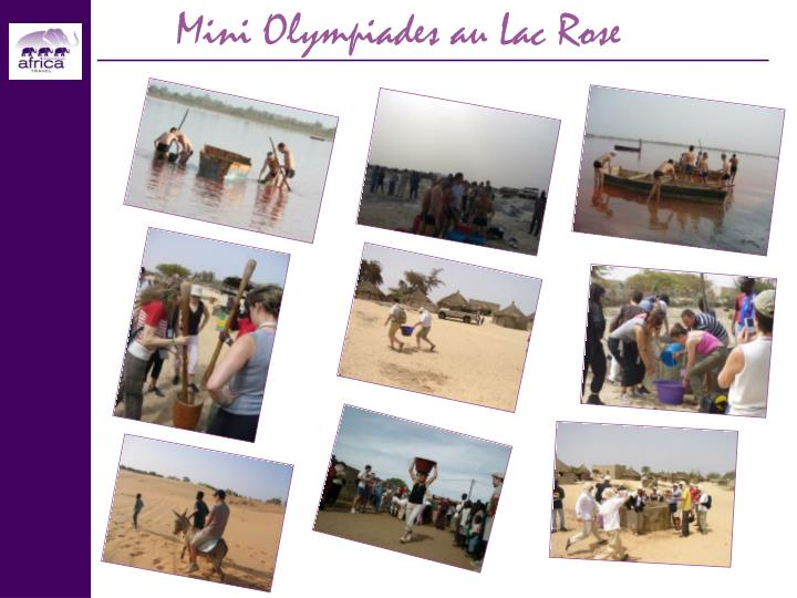 Mini Olympiades au Lac Rose