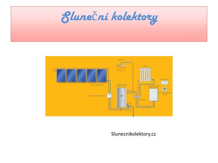 Sluneční kolektory