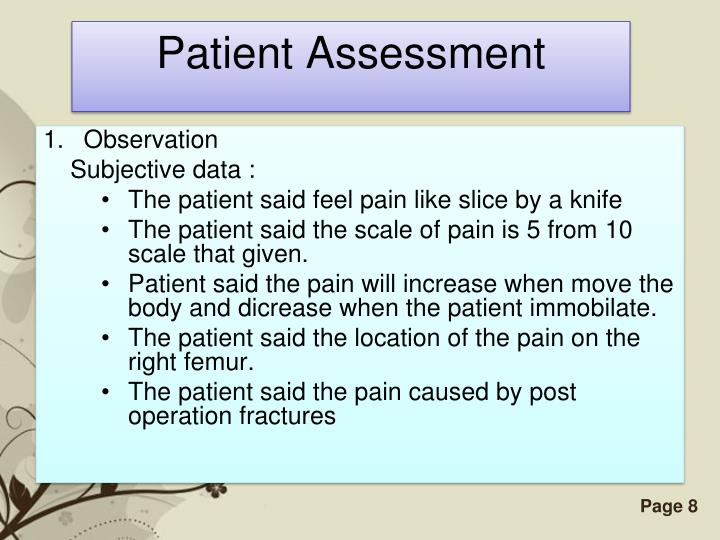 Patient Assessment