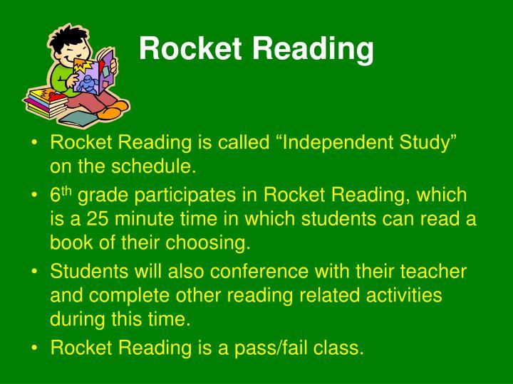 Rocket Reading