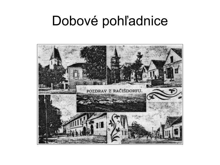 Dobové pohľadnice