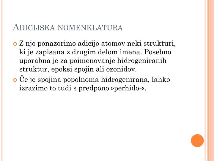 Adicijska nomenklatura