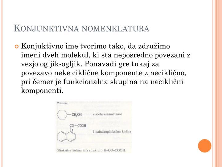 Konjunktivna nomenklatura
