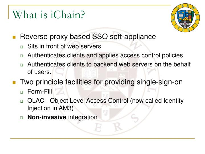 What is iChain?