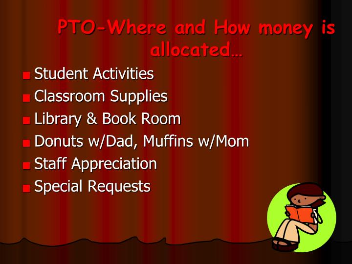 PTO-Where and How money is allocated…