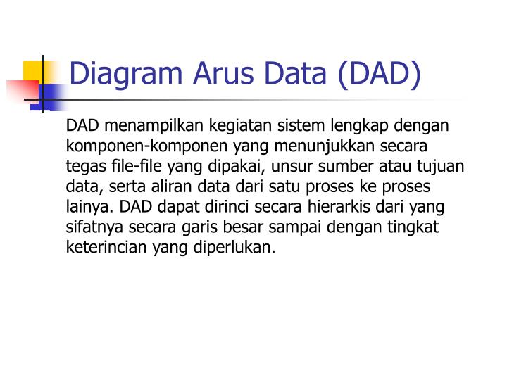 Diagram Arus Data (DAD)