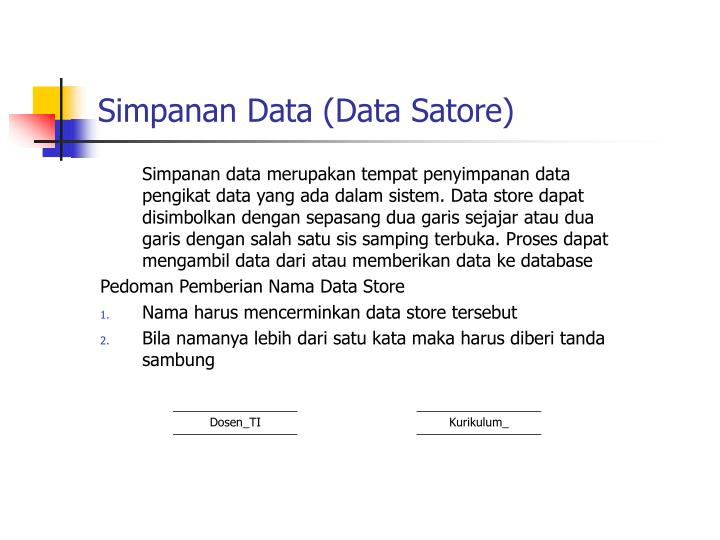Simpanan Data (Data Satore)