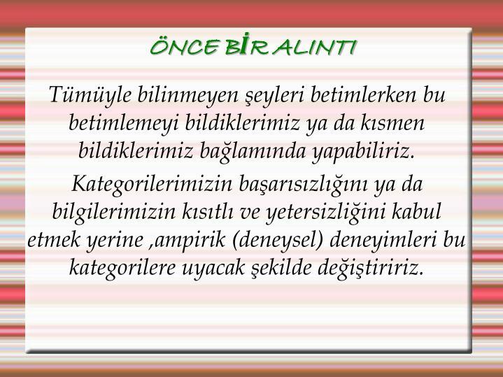 NCE BR ALINTI