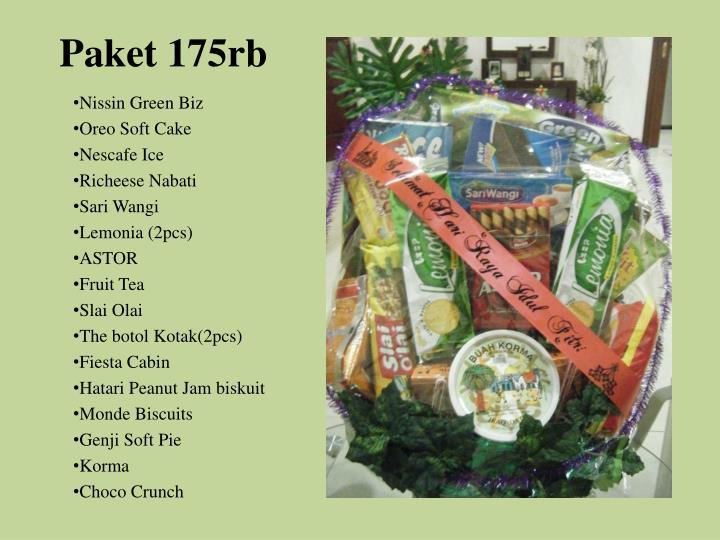 Paket 175rb
