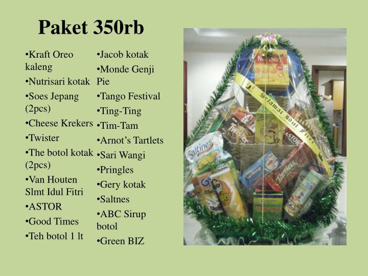 Paket 350rb