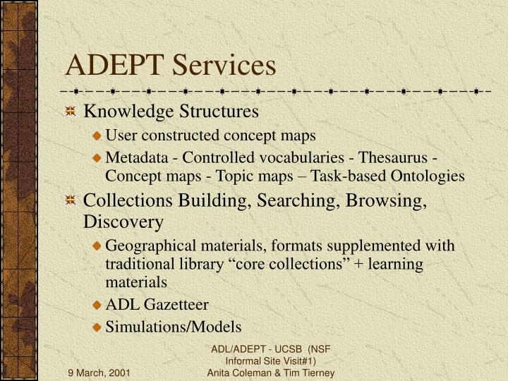 ADEPT Services
