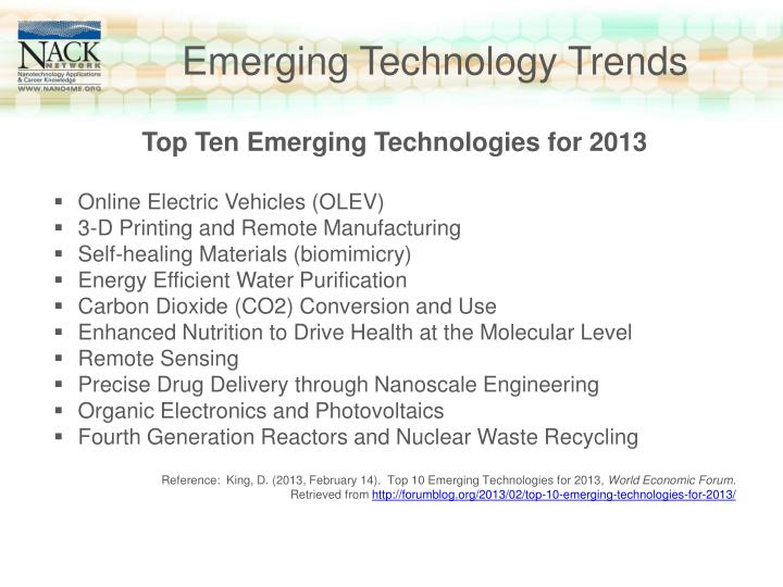 Emerging Technology Trends